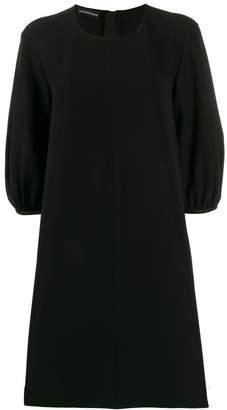 Emporio Armani Ea7 balloon-sleeve mini dress