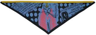 Electronic Sheep Red Eyed Cats Scarf