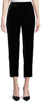 Eileen Fisher Velvet Ankle Trousers