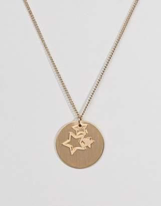 Pieces Gold Star Trio Necklace