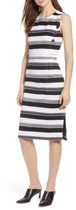 Halogen Stripe Knit Dress