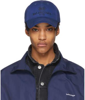 Balenciaga Blue BB Cap