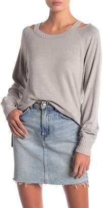 Anama Cold Shoulder Knit Top