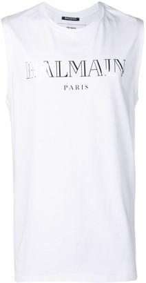 Balmain sleeveless top