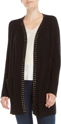 Qi Studded Open Cardigan