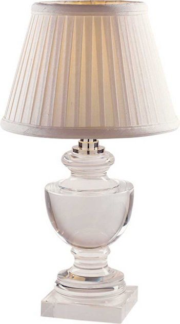 Sandy Chapman MINI URN FORM LAMP IN CRYSTAL