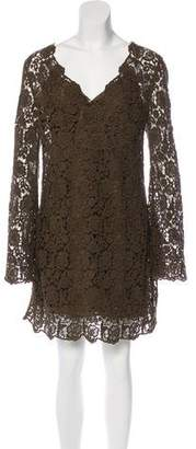 Diane von Furstenberg Crochet Hippolyte Dress