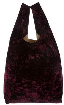 Hayward Crushed Velvet Shopper Tote