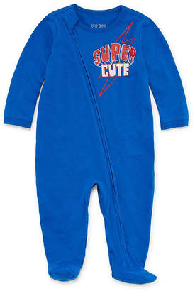 Okie Dokie Super Cute Long Sleeve Full Zip Sleep and Play with Cape - Baby Boy NB-9M