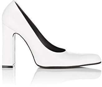 Balenciaga Women's Patent Leather Pumps - White