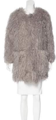 Smythe Short Faux Fur Coat