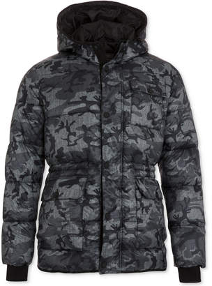 Hawke & Co Men's Hooded Puffer Coat
