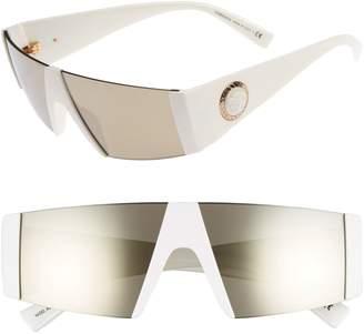 ebd402eb05b at Nordstrom · Versace Medusa 56mm Shield Sunglasses