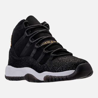 Nike Girls' Grade School Air Jordan Retro 11 Premium Heiress Collection (3.5y - 9.5y) Basketball Shoes