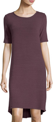Allen Allen Half-Sleeve High-Low Jersey Dress $59 thestylecure.com