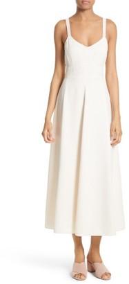 Women's Elizabeth And James Cynthia Fit & Flare Midi Dress $495 thestylecure.com