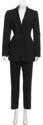 Dolce & Gabbana Pinstripe Wool Pantsuit