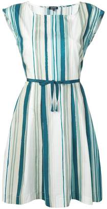 Woolrich sleeveless striped mini dress