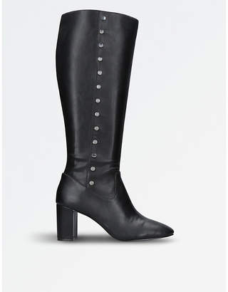 Nine West Ladies Black Xois Knee-High Boots