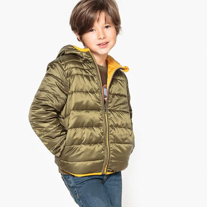 La Redoute Collections Reversible Hooded Padded Jacket, 3-12 Years