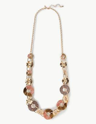 M&S Collection Glitter Rings Long Necklace