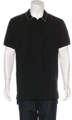 Givenchy Stud-Embellished Polo Shirt