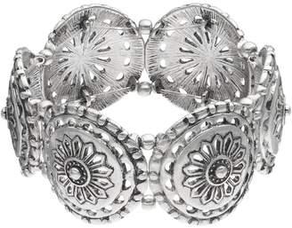 Kohl's Openwork Medallion Stretch Bracelet