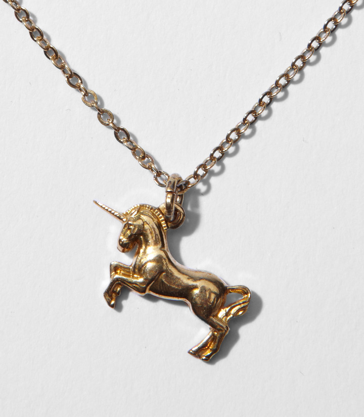 Fred Flare Mini Unicorn Necklace