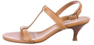 Loro Piana Leather Multistrap Sandals