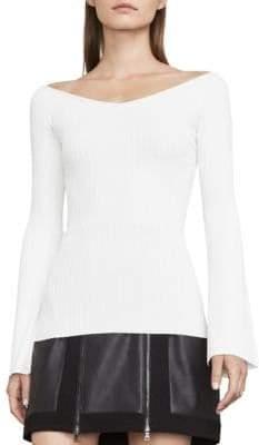 BCBGMAXAZRIA Zoee Off-the-Shoulder Sweater