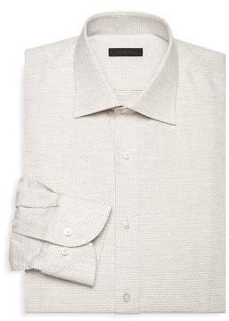 Saks Fifth Avenue COLLECTION Dobby Button-Front Shirt