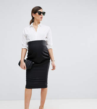Asos Workwear Tailored Pencil Skirt