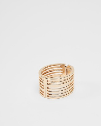 Express Cut-Out Hinge Bangle