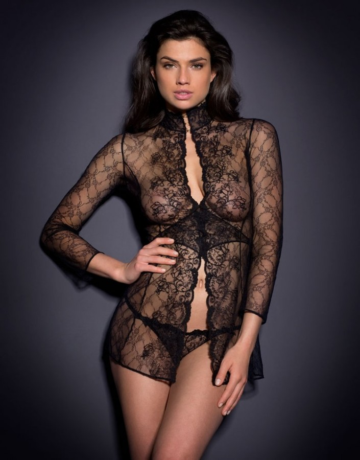 Agent ProvocateurLaretta Gown Black