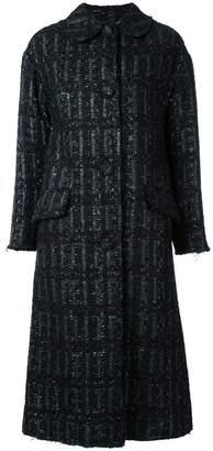 Simone Rocha tweed long coat