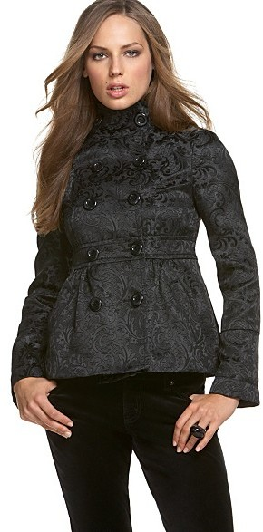 DKNY Jeans LUXE Brocade Jacket