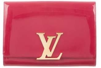 Louis Vuitton Vernis Louise Clutch Rose Vernis Louise Clutch
