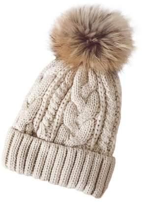 a54e981d1eb at Amazon Canada · Lavany Women s Winter Crochet Hat Cannabis Wool Knit  Beanie Raccoon Warm Cap