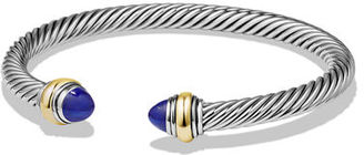 David Yurman Cable Bullet Cabochon Bracelet, 5mm $625 thestylecure.com