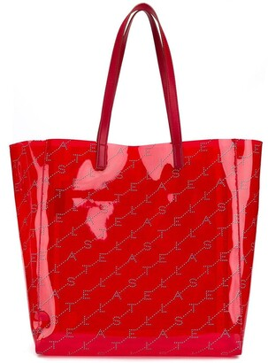 Stella McCartney logo tote bag