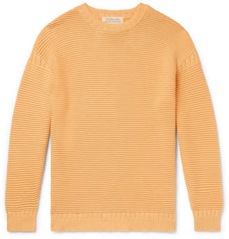 Remi Relief Ribbed Cotton Sweater
