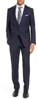Men's Boss Nova/ben Trim Fit Solid Wool Suit $795 thestylecure.com