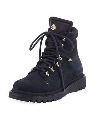 Moncler Men's Egide Suede Hiking Boots
