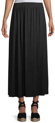 Rachel Pally Shirred A-line Midi Skirt, Plus Size