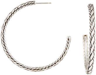 John Hardy Classic Chain Kepang Hoop Earrings