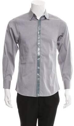 Alexander McQueen Contrast Button-Up Shirt
