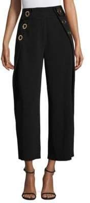 Derek Lam 10 Crosby Cropped Grommet Pants