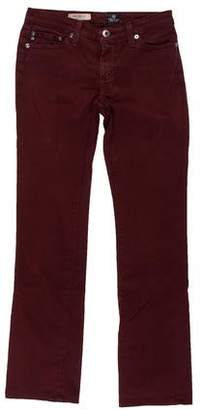 Adriano Goldschmied Low-Rise Straight-Leg Pants