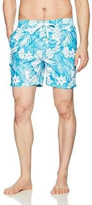 Kanu Surf Men's Jake Floral Quick Dry Beach Volley Swim Trunk