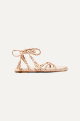 BEIGE Antolina - Bia Braided Cotton Sandals